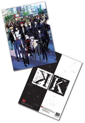 K Group Shot File Folder, an officially licensed product in our Everything Else Stationery department.