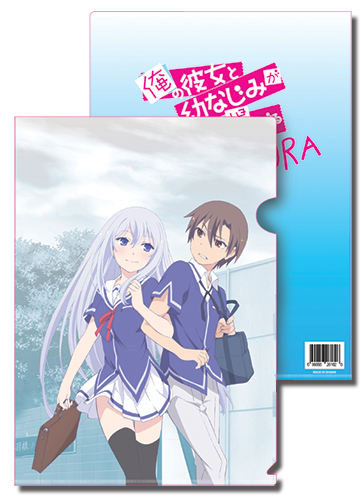 Oreshura - Masuzu & Eita File Folder officially licensed Oreshura Stationery product at B.A. Toys.