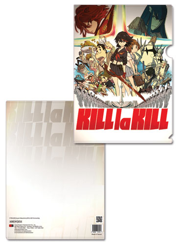 Kill La Kill - Group File Folder, an officially licensed product in our Kill La Kill Binders & Folders department.