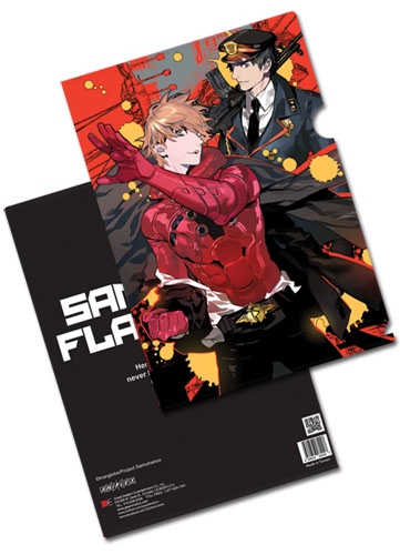 Samurai Flamenco - Masayoshi & Hidenori File (5 Pcs/Set) officially licensed Samurai Flamenco Stationery product at B.A. Toys.