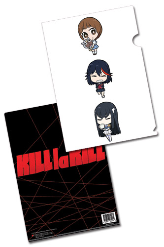 Kill La Kill - Sd Group File Folder officially licensed Kill La Kill Stationery product at B.A. Toys.