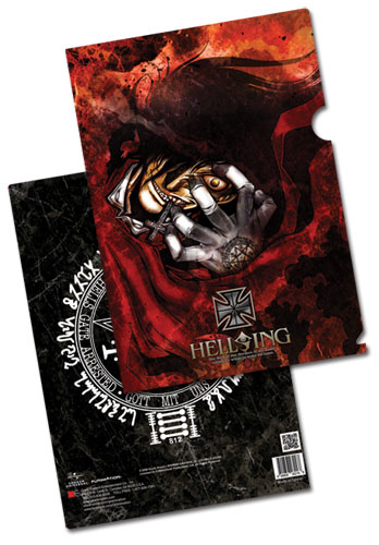 Hellsing Ultimate - Alucard File Folder (5 Pcs/Set) officially licensed Hellsing Stationery product at B.A. Toys.