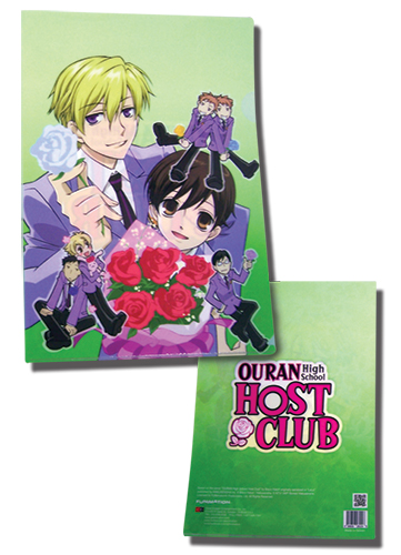 Ouran High School Host Club - Haruhi & Tamaki File Folder (5 Pcs / Pack), an officially licensed product in our Ouran High School Host Club Binders & Folders department.