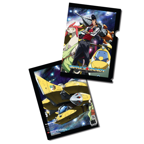 Space Dandy - Ship Ahoy File Folder (5 Pcs/Set) officially licensed Space Dandy Stationery product at B.A. Toys.