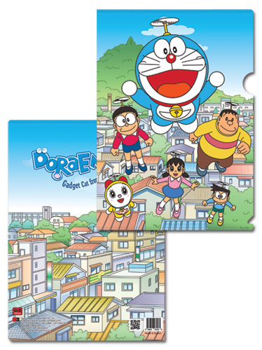 Doraemon - Doraemon & Friends File Folder, an officially licensed product in our Doraemon Binders & Folders department.