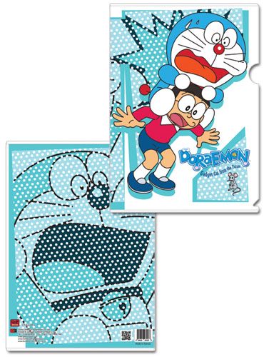 Doraemon - Mouse Scare File Folder, an officially licensed Doraemon product at B.A. Toys.