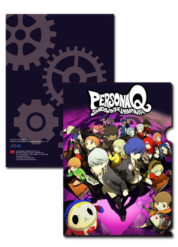Persona Q - Key Art File Folder, an officially licensed product in our Persona Binders & Folders department.