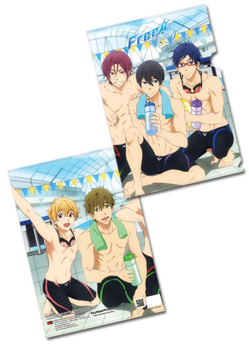Free! - After Swim Groupshot File Folder, an officially licensed product in our Free! Binders & Folders department.