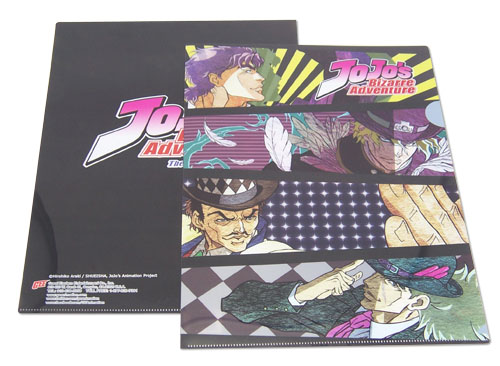 Jojo - Characters File Folder officially licensed Jojo'S Bizarre Adventure Stationery product at B.A. Toys.