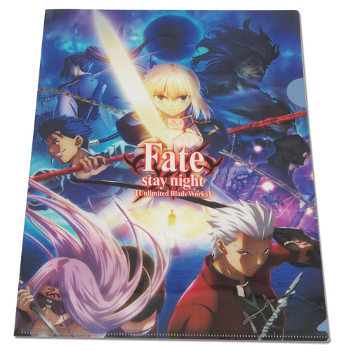 Fate/stay Night - Group File Folder officially licensed Fate/Zero Binders & Folders product at B.A. Toys.