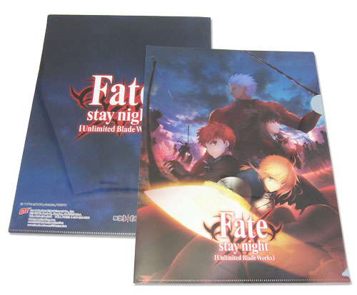 Fate/Stay Night - Teams File Folder, an officially licensed product in our Fate/Zero Binders & Folders department.
