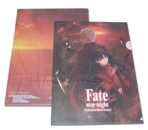 Fate/stay Night - Rin & Archer File Folder officially licensed Fate/Zero Binders & Folders product at B.A. Toys.