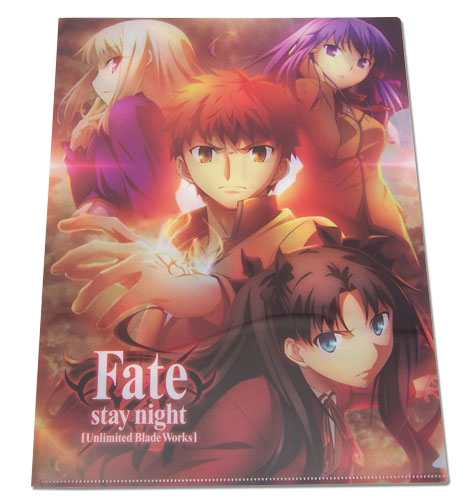 Fate/stay Night - Shiro & Girls File Folder officially licensed Fate/Zero Binders & Folders product at B.A. Toys.