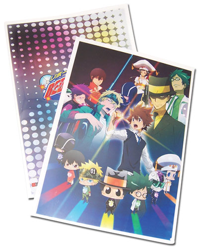 Reborn! - Group Art File Folder officially licensed Reborn! Stationery product at B.A. Toys.