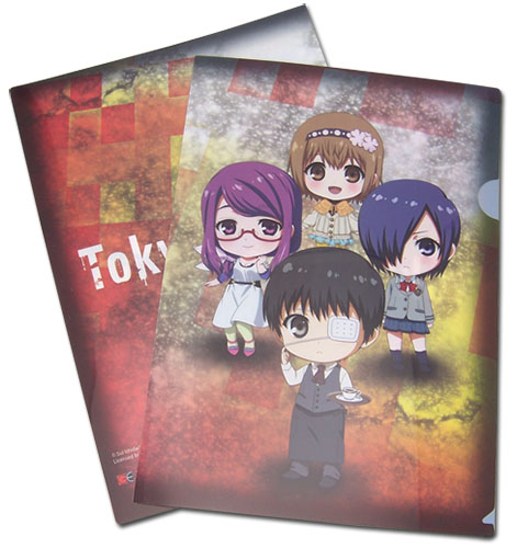 Tokyo Ghoul - Group 01 Sd File Folder, an officially licensed product in our Tokyo Ghoul Binders & Folders department.