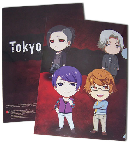 Tokyo Ghoul - Group 2 Sd File Folder officially licensed Tokyo Ghoul Stationery product at B.A. Toys.
