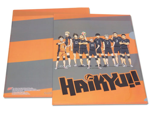 Haikyu!! - Team File Folder, an officially licensed product in our Haikyu!! Binders & Folders department.
