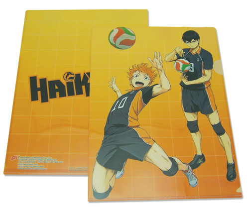 Haikyu!! - Hinata & Kageyama File Folder, an officially licensed product in our Haikyu!! Binders & Folders department.