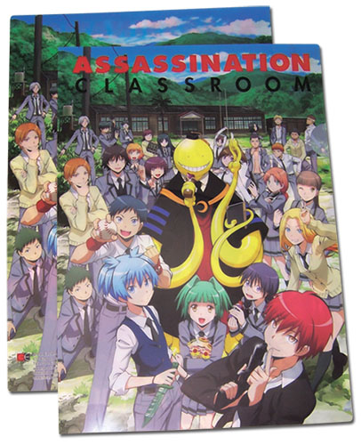 Assassination Classroom - Full Group File Folder, an officially licensed product in our Assassination Classroom Binders & Folders department.