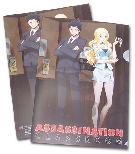 Assassination Classroom - Tadaomi & Tribe File Folder officially licensed Assassination Classroom Stationery product at B.A. Toys.