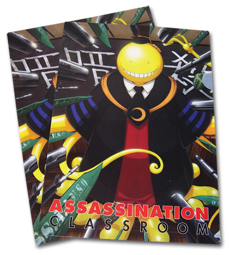 Assassination Classroom - Koro Sensei File Folder, an officially licensed Assassination Classroom product at B.A. Toys.
