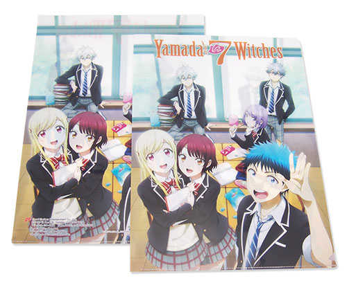 Yamada Kun - Group File Folder, an officially licensed product in our Yamada-Kun And The Seven Witches Binders & Folders department.