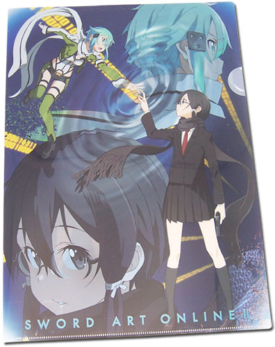 Sword Art Online Ii - Sinon File Folder, an officially licensed product in our Sword Art Online Binders & Folders department.