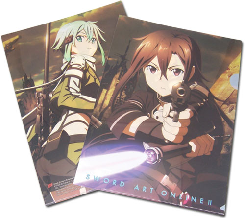 Sword Art Online Ii - Gunpoint File Folder, an officially licensed product in our Sword Art Online Binders & Folders department.