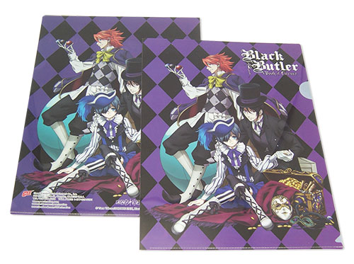 Black Butler B.O.C. - Treasure File Folder, an officially licensed product in our Black Butler Book Of Circus Binders & Folders department.