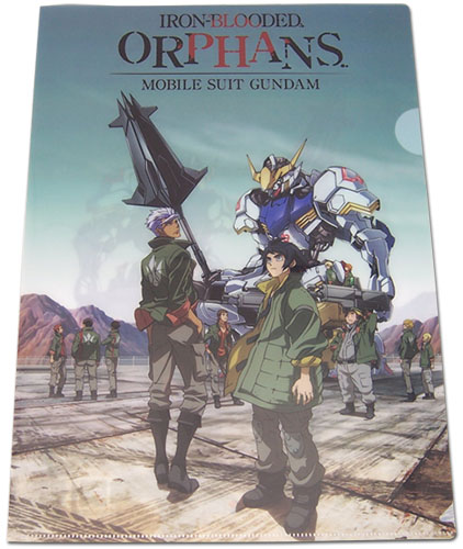 Gundam Iron-blooded Orphans - Group File Folder officially licensed Gundam Iron-Blooded Orphans Binders & Folders product at B.A. Toys.
