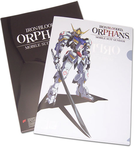 Gundam Iron-Blooded Orphans - Asw-G-08 Gundam Barbatos File Folder, an officially licensed product in our Gundam Iron-Blooded Orphans Binders & Folders department.