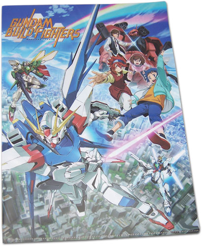 Gundam Build Fighters - Group File Folders (5Pcs/Pack), an officially licensed product in our Gundam Build Fighters Try Binders & Folders department.