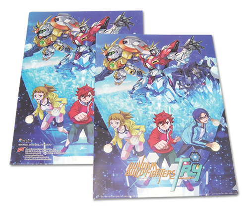 Gundam Build Fighters Try - Group File Folder (5Pcs/Pack), an officially licensed product in our Gundam Build Fighters Try Binders & Folders department.