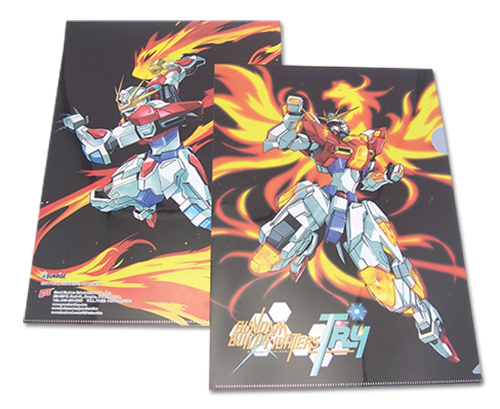 Gundam Build Fighters Try - Build Burning Gundam File Folder (5Pcs/Pack), an officially licensed product in our Gundam Build Fighters Try Binders & Folders department.