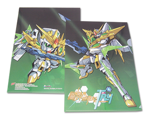 Gundam Build Fighters Try - Star Winning Gundam File Folder (5Pcs/Pack), an officially licensed product in our Gundam Build Fighters Try Binders & Folders department.