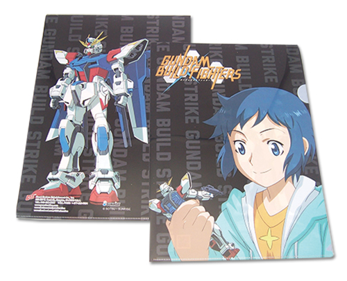 Gundam Build Fighters - Sei & Build Strike File Folder (5Pcs/Pack), an officially licensed product in our Gundam Build Fighters Try Binders & Folders department.