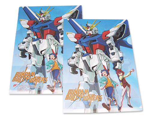 Gundam Build Fighters - Sei & Reiji File Folder (5Pcs/Pack), an officially licensed product in our Gundam Build Fighters Try Binders & Folders department.