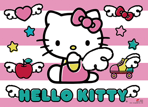 Hello Kitty - Pink Angel Wall Scroll, an officially licensed product in our Hello Kitty Wall Scroll Posters department.