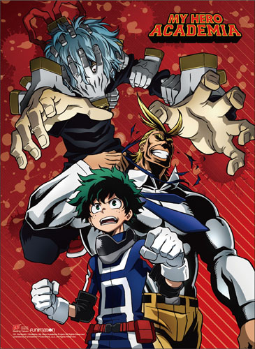 My Hero Academia - Group 03 Wall Scroll, an officially licensed product in our My Hero Academia Wall Scroll Posters department.