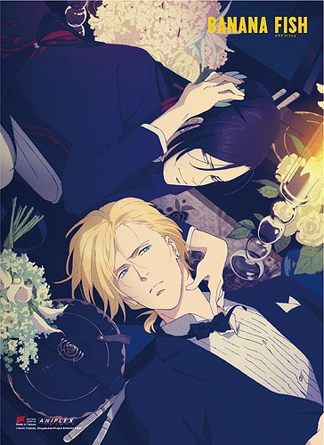 Banana Fish - Ash & Yut Wall Scroll, an officially licensed product in our Banana Fish Wall Scroll Posters department.