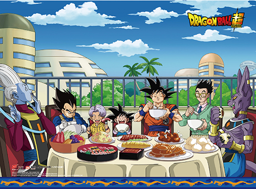 Dragon Ball Super - Feast Group Wall Scroll, an officially licensed product in our Dragon Ball Super Wall Scroll Posters department.