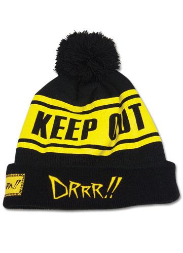 Durarara!! Keep Out Beanie, an officially licensed Durarara Cap
