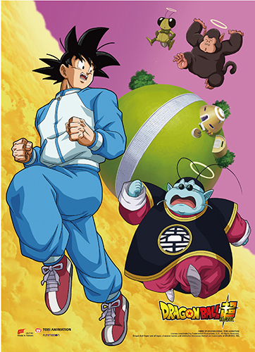 Dragon Ball Super - Battle Of Gods Group 8 Wall Scroll, an officially licensed product in our Dragon Ball Super Wall Scroll Posters department.