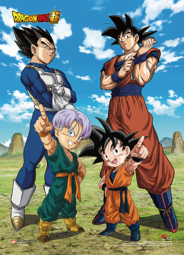 Dragon Ball Super - Battle Of Gods Group 10 Wall Scroll, an officially licensed product in our Dragon Ball Super Wall Scroll Posters department.