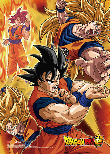 Dragon Ball Super - Battle Of Gods Group Wall Scroll, an officially licensed product in our Dragon Ball Super Wall Scroll Posters department.