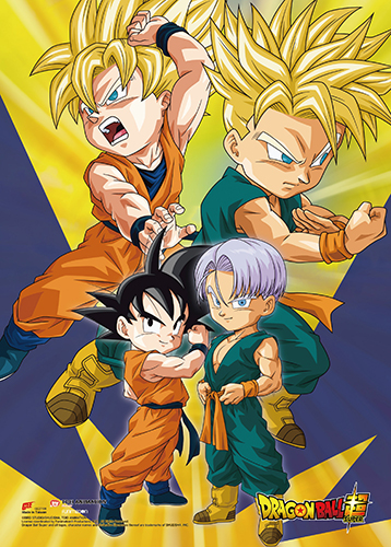 Dragon Ball Super- Battle Of Gods Group 13 Wall Scroll, an officially licensed product in our Dragon Ball Super Wall Scroll Posters department.