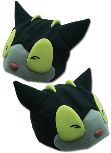 Blue Exorcist Kuro Fleece Cap, an officially licensed Blue Exorcist product at B.A. Toys.