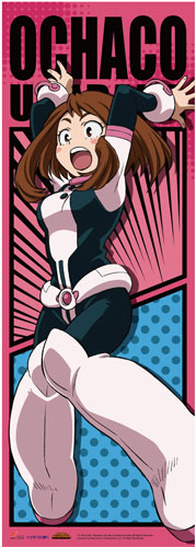 My Hero Academia - Ochaco Battle Suit Human Size Wall Scroll, an officially licensed product in our My Hero Academia Wall Scroll Posters department.