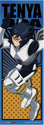 My Hero Academia - Iida Battle Suit Human Size Wall Scroll, an officially licensed product in our My Hero Academia Wall Scroll Posters department.