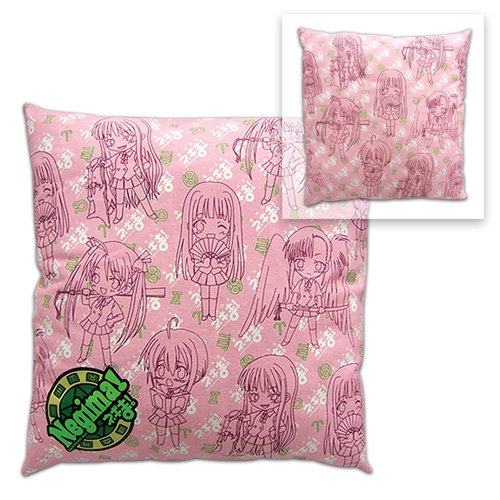 Negima Girl Pattern Pillow, an officially licensed product in our Negima Pillows department.